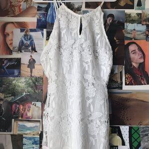 ASTR White Lace dress